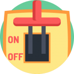 power button icon